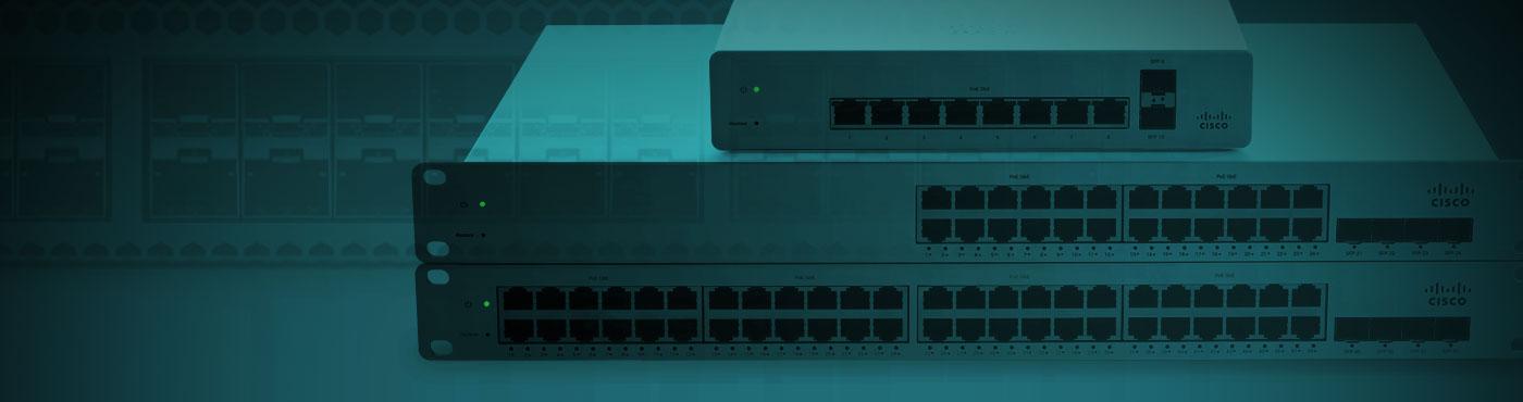 Cisco Meraki MS220 Cloud Managed 1GbE 1G SFP Interface Switch